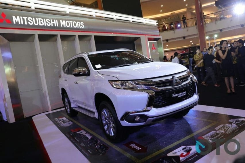 Mitsubishi Pajero Sport Exceed CKD